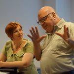 Rollenstudium im Dialog mit Prof. Uecker